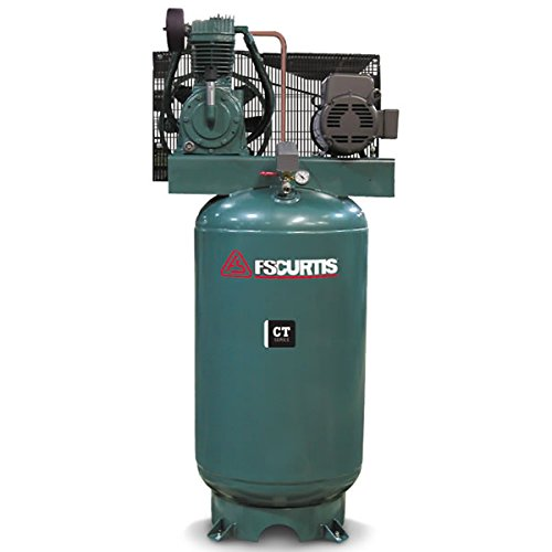 FS-Curtis (CT5) 5-HP 80-Gallon Two-Stage Air Compressor (208V 3-Phase) - 05C55V8S-A9D