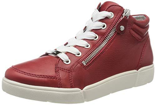 ara Damen ROM Hohe Sneaker, Rot 10), 39 EU(6 UK)