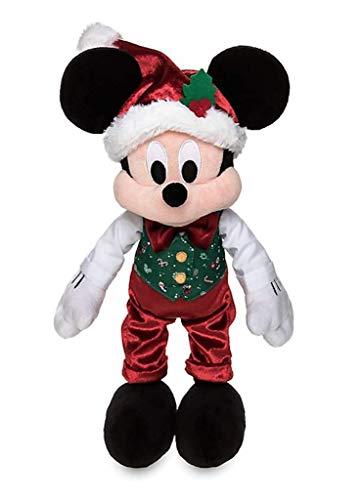 Disney Peluche Topolino Mickey Mouse Natale 2019 Store 43 CM