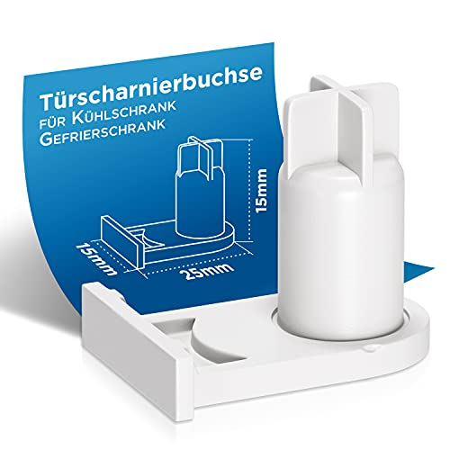 Cerniera porta di ricambio per Bosch 00169301 169301 Miele 5384490 Cerniera porta Boccola di ricambio per frigorifero Siemens