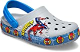 Crocs Superhero Clog | Light Up Shoes for Kids, Spiderman/Grey, 7...