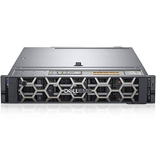 Dell PowerEdge R540 2U Rack Server, Intel Xeon Bronze 3106, 16GB RAM, 8x 8TB SATA, PERC H730P, Dell 3 YR WTY + EuroPC Warranty Assist, (Renewed)