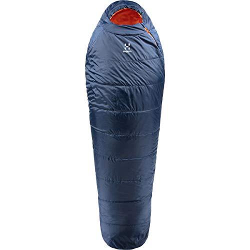 Haglöfs Tarius +1 Schlafsack, Erwachsene, Unisex, Blau, 205 cm