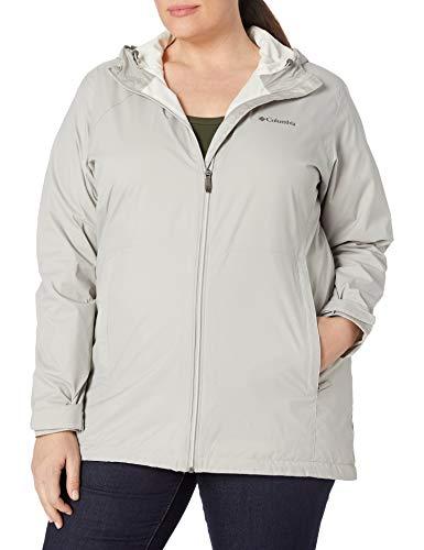 Columbia Women's Switchback Long Jacket, Flint Grey/Chalk Lining, Large