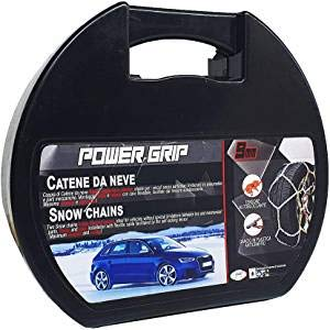 POWER GRIP, Catene da Neve Auto 9 mm, Misura 120, Omologate TUV e GS Onorm, 09B120