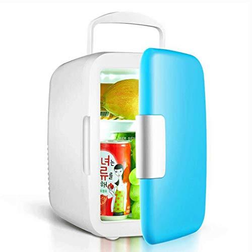 Mini Refrigerador Nevera Mini Nevera 4L / 6L Coche Compacto Pequeña Nevera Con Congelador For Los Hogares, Dormitorios, Oficinas, Residencias - Maquillaje Cuidado De La Piel Nevera Portátil para Coche