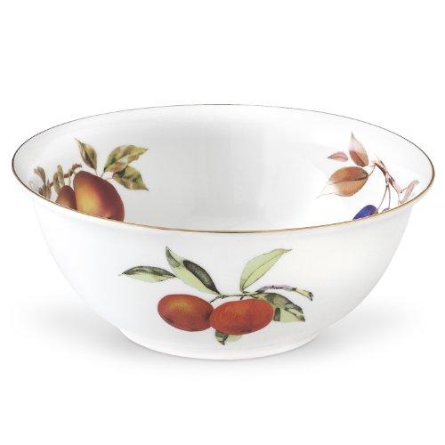 Royal Worcester Evesham Gold Porcelain Deep Salad Bowl