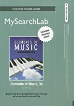 MyLab Search with Pearson eText -- Standalone Access Card -- for Elements of Music (3rd Edition) (MySearchLab (Access Codes))
