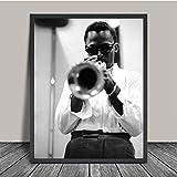 JYSHC Druck Auf Leinwand Miles Davis Jazz Musik