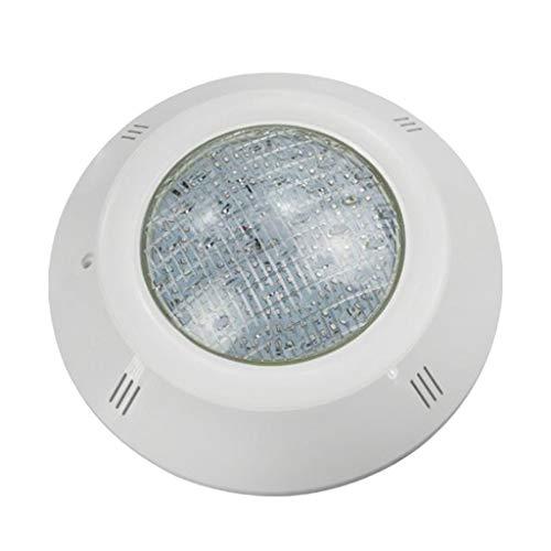 FLAMEER Lámpara Subacuática Impermeable IP68, Foco Suelo Led para Paisaje Fuente del Estanque de Piscina de Iluminación - 9W
