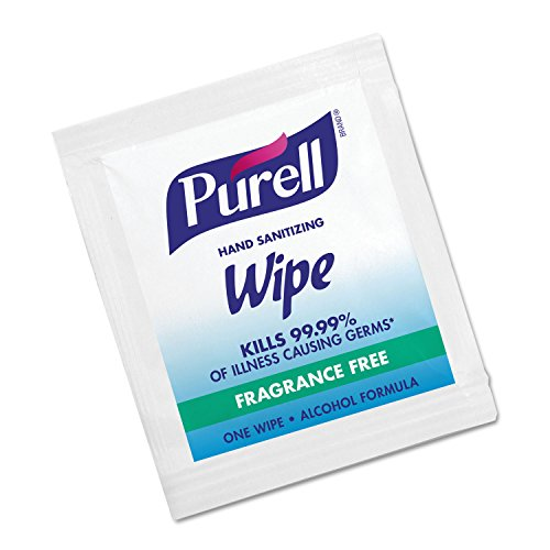 PURELL 902210CT Sanitizing Hand Wipes, 5 x 7, 1000/Carton