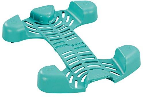 Leifheit Clean Twist Rollwagen für rückenschonende Bodenreinigung, schieben statt tragen mit 360°-Rollen, passend für alle Leifheit Clean Twist Systeme, mit Click System