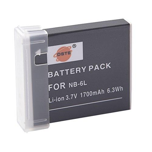 x2 Batterie patona NB-6LH NB6L+carica per CANON IXY DIGITAL POWERSHOT SD770 IS