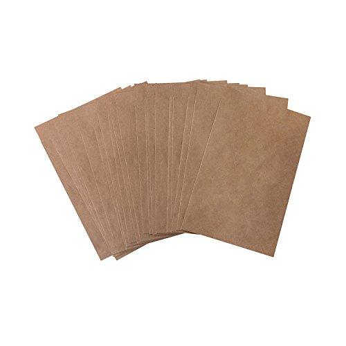 25 kleine mini papieren zakjes, 8,5 x 13,2 cm (+ 1,3 cm flap), natuurlijk bruin, kraftpapier, addentzakken, adventskalender, knutselen, vriendinnen, tranen, give-away, verpakking om cadeau te geven aan sieraden, gastgeschenk
