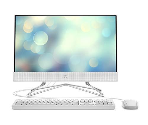 HP 22-df0007ng (21,5 Zoll / Full HD) All-in-One PC (AMD Ryzen 5 3500, 8GB DDR4 RAM, 256 GB SSD, AMD Radeon RX Vega 2, Windows 10) weiß