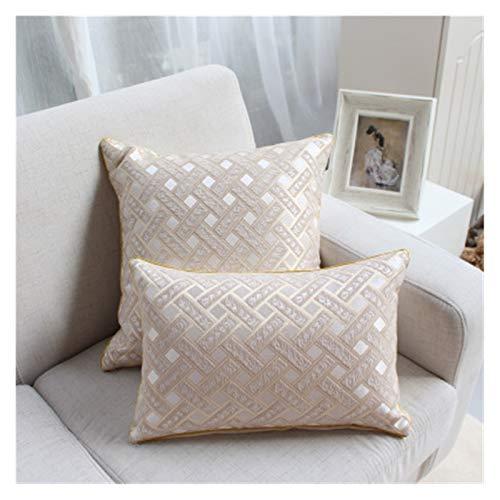 JSJJWSX Cojín moderno de mezcla de cojines creativos florales cusion cojín decorativo de lujo con núcleo interior de sofá decoración del hogar (color: 6, especificación: 30 x 50 cm)