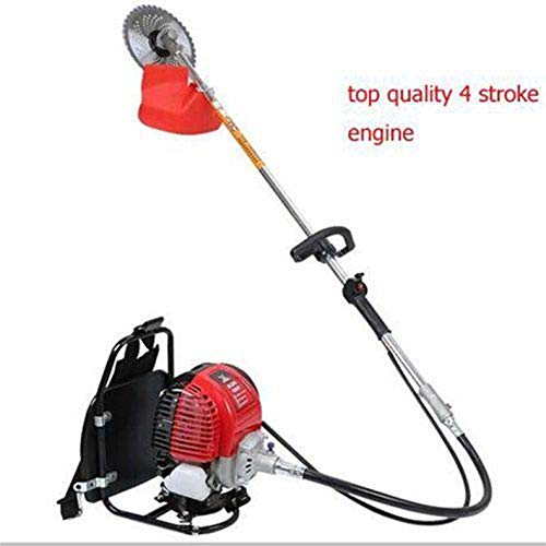 CHIKURA GX35 mochila de gasolina 4 tiempos pincel cortador de hierba cortadora de césped mango cortacésped herramienta de jardín