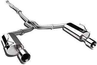 DNA Motoring CBE-NM04V6-D-NRT CBENM04V6DNRT Stainless Steel Catback Exhaust System