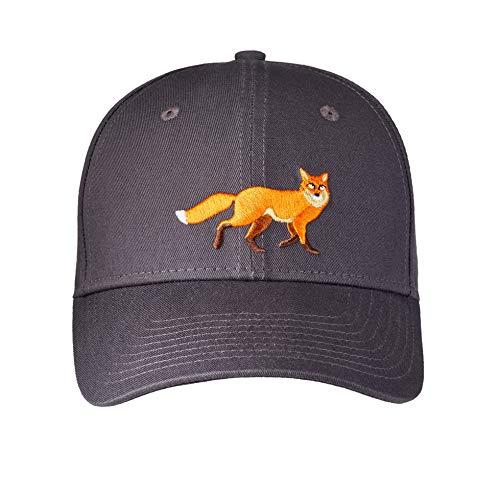 Lakeshore® Jagd Cap, Angel, Outdoor Kappe, Grau, 100% Baumwolle, Kinder, Größe S