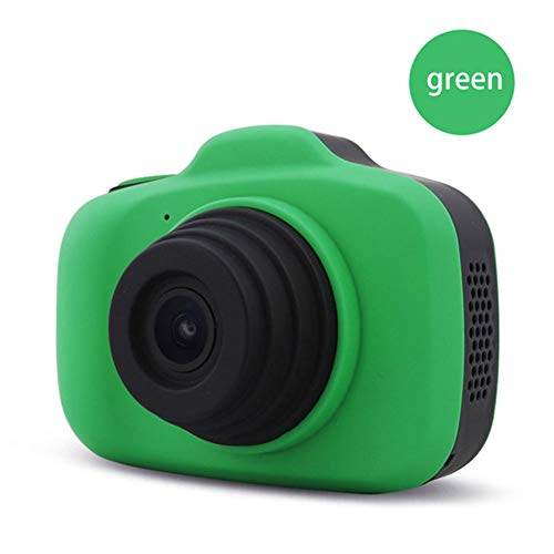 Affordable LDD OUTDOOR Children Portable Mini DSLR Digital Camera 12MP 1080P Dual Lens 2.3 Inch LCD Screen Auto Focus HD Video Digital Camera for Gifts,C