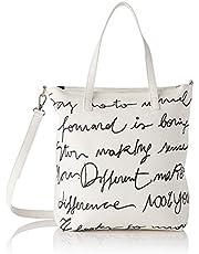 Desigual PU Shopping Bag, Bolsa de la compra para Mujer, Talla única