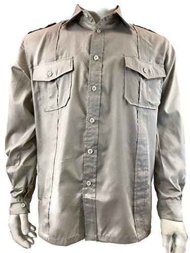 Indiana Jones Shirt Safari Raiders Costume (XL) Khaki