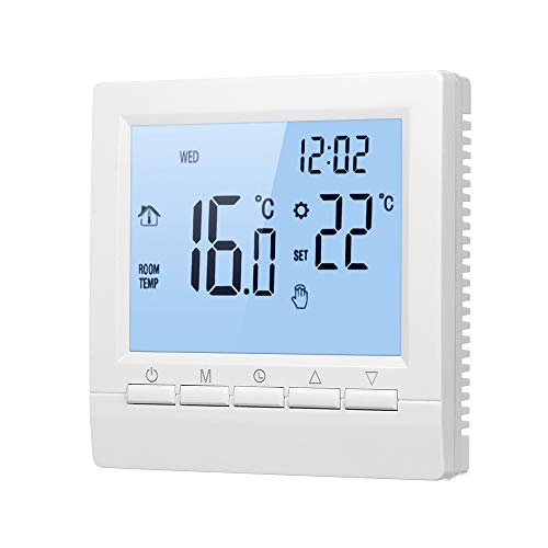 Decdeal Termostato Inteligente WiFi / No WiFi Controlador Digital de Temperatura Pantalla...