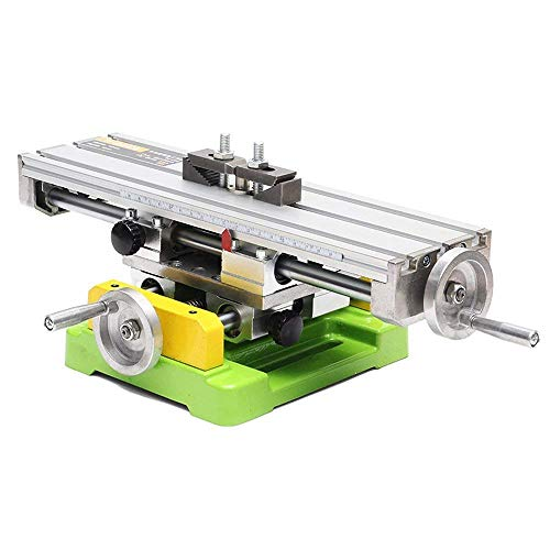 YEEZUGO Multifunction Worktable Milling Working Table Milling Machine Compound Drilling Slide Table For Bench Drill(Heavy Size)