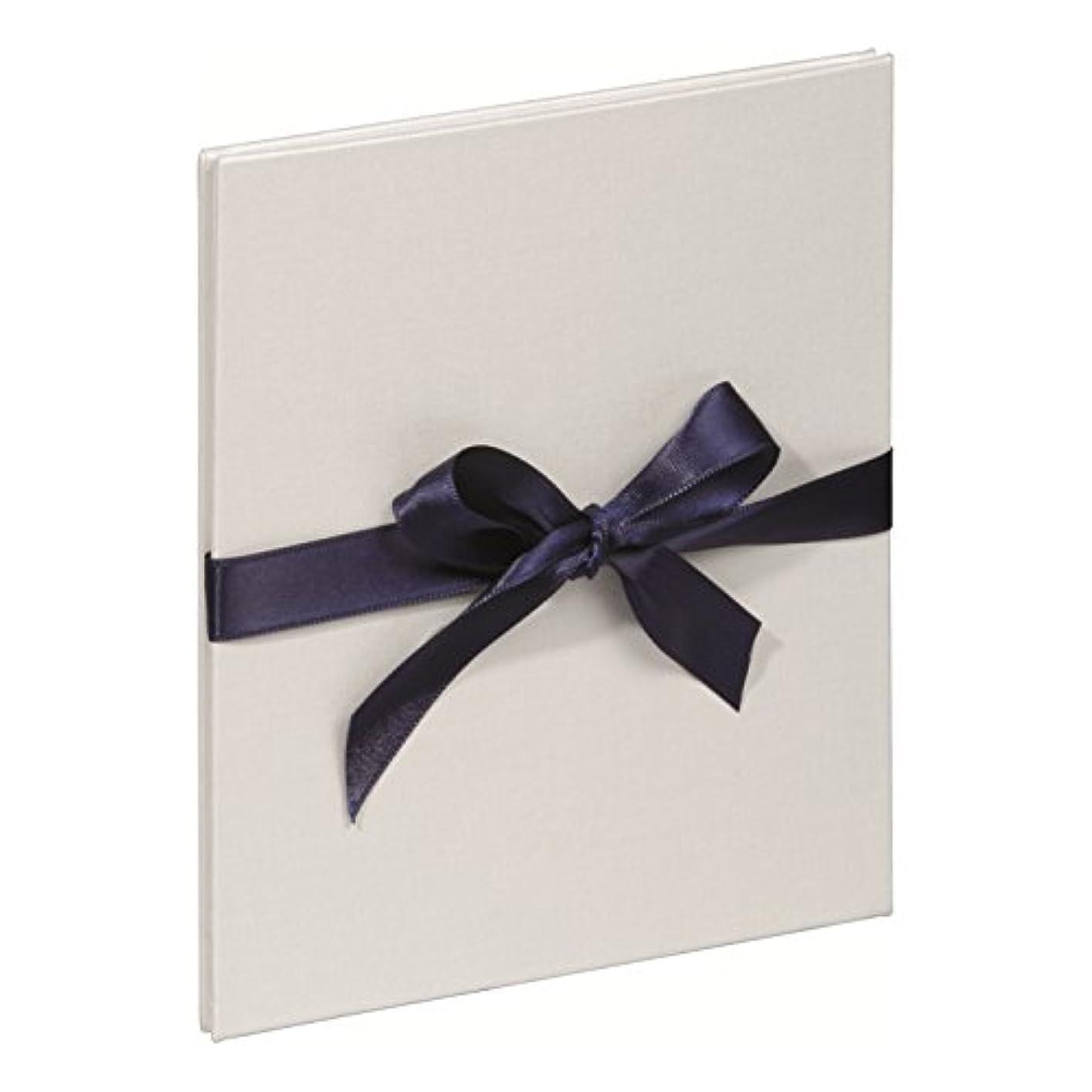 Pagna 10504–02 Album: 134 cm x 165 MM-White Dark Blue Ribbon