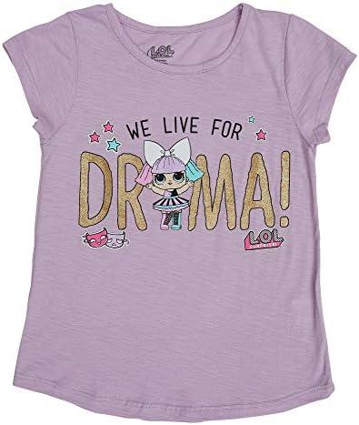LOL Surprise T-Shirt Kurzarmshirt Pink 110-140 Shirt Pullover