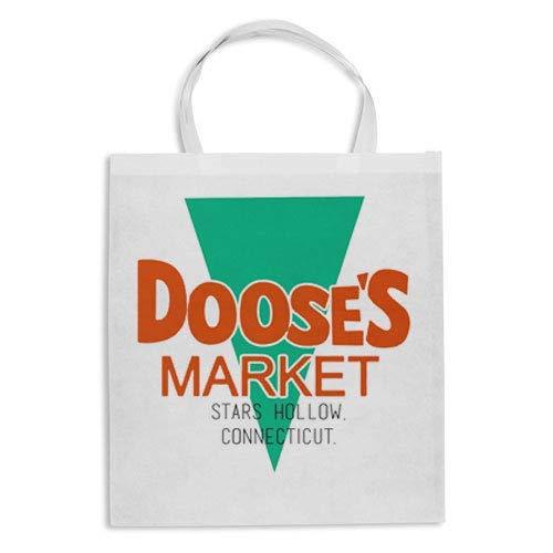 Gattablu Borsa Shopper Doose's Market, Stars Hollow Connecticut Supermarket, Gilmore Girls - Una Mamma per Amica Inspired