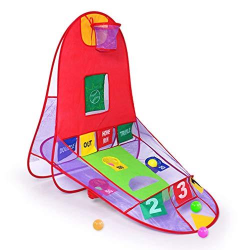 #N/A Anchang Hoot - Tienda de campaña para niños, con bola al aire libre, tienda de campaña plegable, casa de juego educativo, equipo de juguete