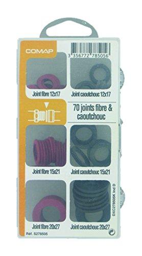 Comap Coffret de 70 Joints fibre/caoutchouc