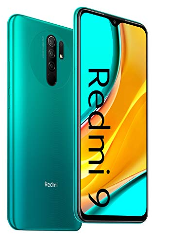 Xiaomi Redmi 9 4GB+64GB Ocean Green, Official UK Version + 2 Year Xiaomi Warranty