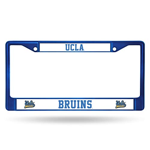 Rico Industries Unisex's NCAA UCLA Bruins Team Colored Chrome License Plate Frame, Blue, 6 x 12.45-inches