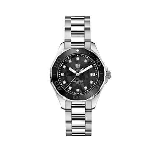TAG Heuer Aquaracer Reloj de Mujer Cuarzo 35mm Correa de Acero WAY131M