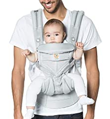 ONE CARRIER THAT DOES IT ALL: Grows with baby from newborn to toddler (Week 1-48 Months; 7-45lbs). ALL CARRY POSITIONS: Inward, Front Outward, Hip & Back Carry COOL AND BREATHABLE: Soft and durable mesh provides for the ultimate breathability and air...