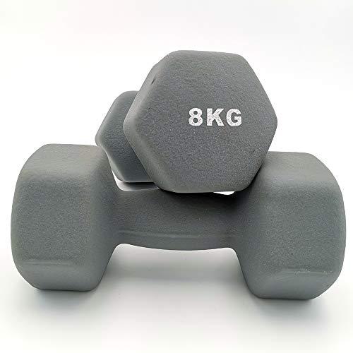 TOP FILM ダンベル 2個セット1kg 2kg 3kg 4kg 5kg 8kg 10kg ダンベルセット ソフトコーティング 筋力トレーニング 筋トレ 鉄アレイ (8)