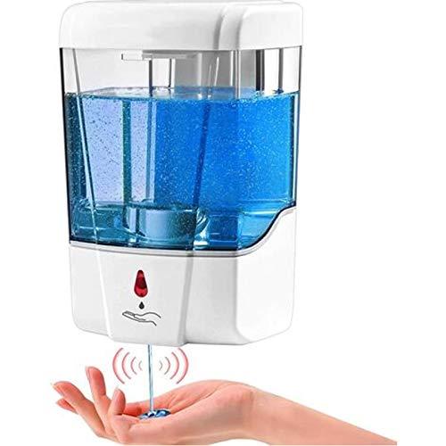 n&P - Dispensador de jabón automático para pared, 700 ml, para cocina y cuarto de baño