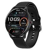 LIEBIG Smartwatch Uomo Orologio Intelligente Fitness Tracker IP68 Impermeabile Contapassi Cardiofrequenzimetro da Polso Monitoraggio del Sonno Orologio Sportivo Smart Watch Calorie per Android iOS