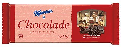 5x Manner - Schokolade zum Kochen & Backen - 250g