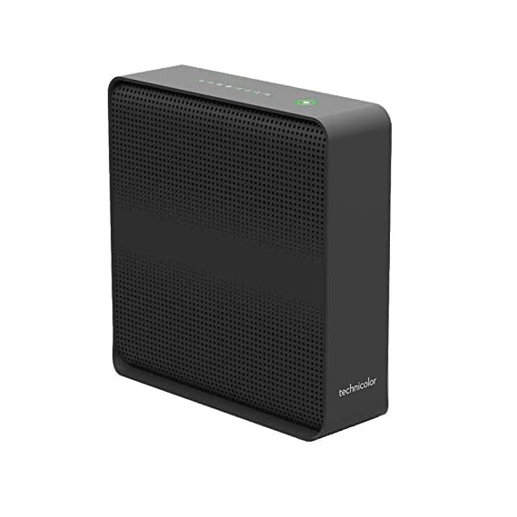 Technicolor CGM4231 Cable Modem Wireless Gateway with Dual VoIP Phone Ports DOCSIS 3.1 with 802.11ac Wi-Fi & MoCA 2.0 3 Wireless networking on-board > IEEE 802.11n 2.4 GHz (3x3) > IEEE 802.11ac Wave 2 5 GHz (4x4) 2 x 2 OFDM(A) bonded channels in DOCSIS 3.1 mode & 32 x 8 bonded channels in DOCSIS 3.0 mode Automatic switchable diplexer for up and downstream with Built in RF spectrum analyzer
