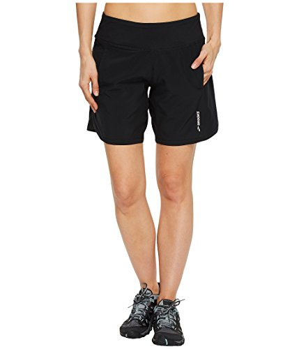 """Brooks Chaser 7"""" Shorts Black 1 LG (US 12-14)"""