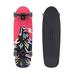 """PORTABLE AND CAPABLE - Coming in at 30"""" x 9"""" the Landyachtz Tugboat is portable and easy to carry around campus, yet wide enough to still be comfortable while cruising for long periods of time. TOP NOTCH COMPONENTS - Landyachtz is one of the most res..."""