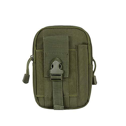 BITUBITU Bolsa tática Molle, bolsa para cinto utilitária EDC com coldre para celular, bolsa para acampamento, caminhada e acampamento