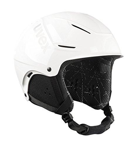 Uvex Unisex– Erwachsene Skihelm p1us, 1st White Rent, M = 55-59 cm