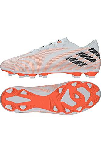 adidas Nemeziz .4 FxG, Zapatillas de fútbol Hombre, FTWBLA/NEGBÁS/NARCHI, 48 2/3 EU