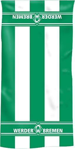 Bertels Werder Bremen 80040-02 Bremen Handtuch Blockstreifen