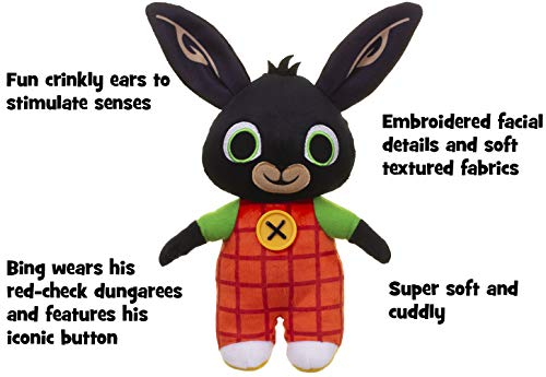 Bing 3521 Bunny Soft Toy with Crinkly Ears, 21Cm