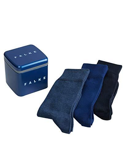 FALKE Happy Box 3-Pack Herren Socken sortiment (0020) 39-42 mit Geschenkverpackung